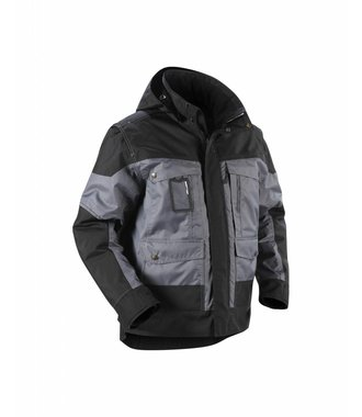 Winterjacket Grey/Black