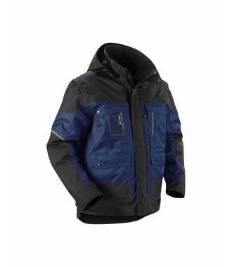 Winterjacket Navy blue/Black
