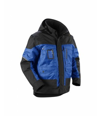 Winterjacket Cornflower blue/Black