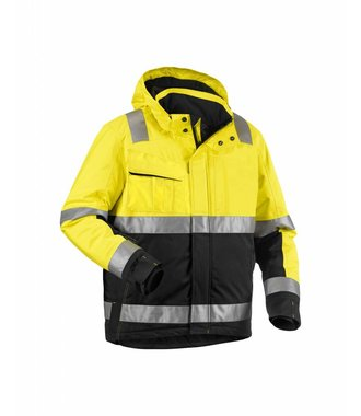 High Vis Winter Bundjacke Kl. 3 : Gelb/Schwarz - 487019873399
