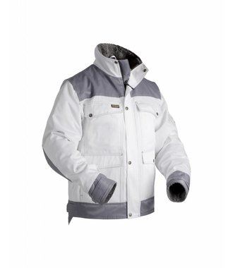 Painters lined jacket White/Grey