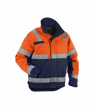Winter jacket Orange/Navy blue