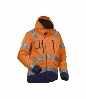 High Vis Funktionsjacke Kl. 3 : Orange/Marineblau - 483719775389