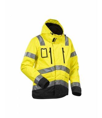 High Vis, Waterproof Jacket Yellow/Black