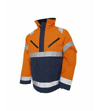 Veste Hiver : Orange/Marine - 482719775389