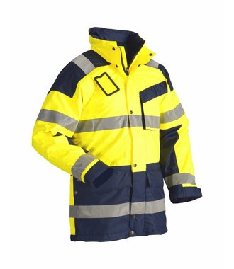 High Vis Winterparka Kl.3  : Gelb/Marineblau - 442619973389