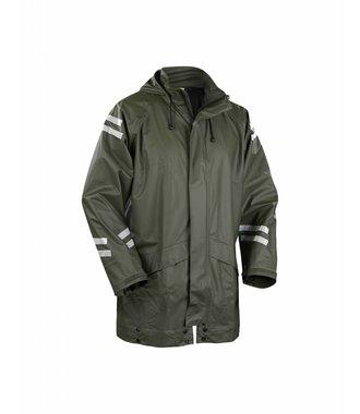 Rain jacket Army green