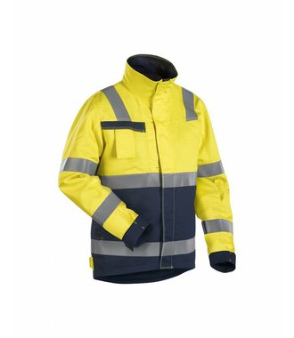 Multinorm Winterjacke : Gelb/Marineblau - 406815303389