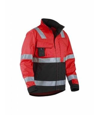 Highvisibility jacket Red/black