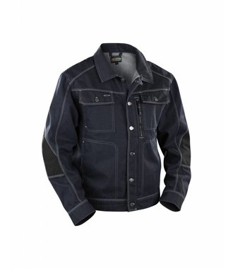 Craftsman Denim Jacket : Marine/Noir - 405911408999