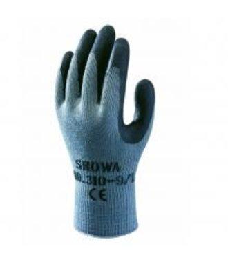 Showa 310 (noir) gants avec poignée en latex