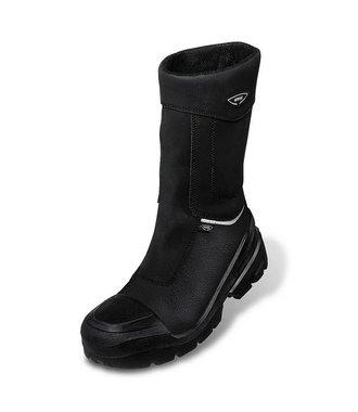 uvex quatro PRO noir des bottes d'hiver - haute
