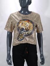 T-shirt (panter goud)