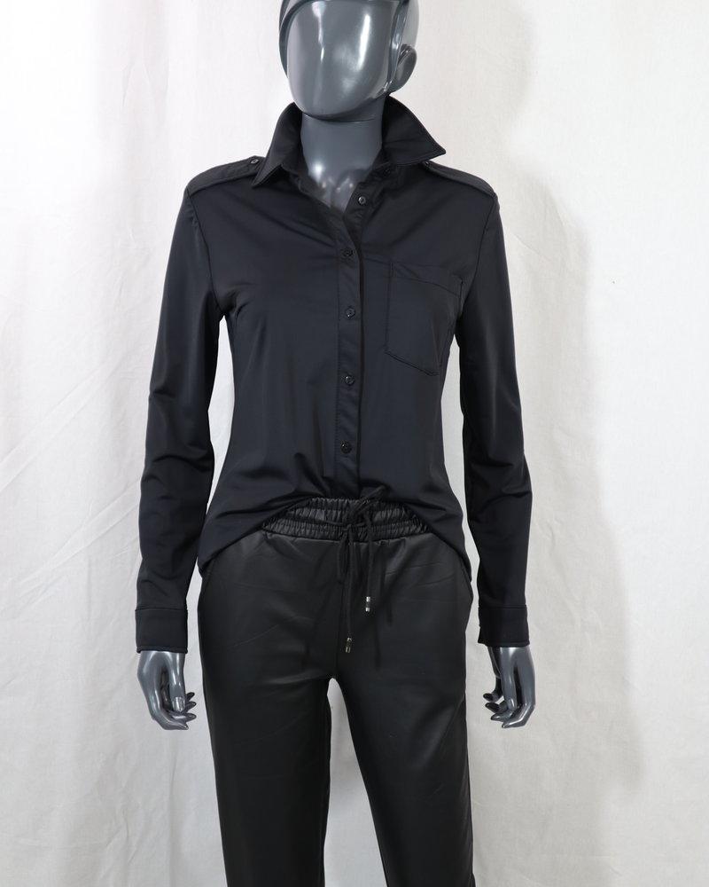 blouse travel zwart