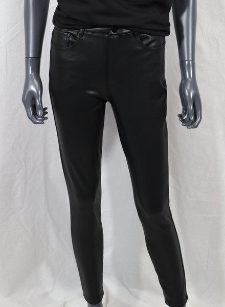 VS Miss Five pocket leatherlook broek (36)