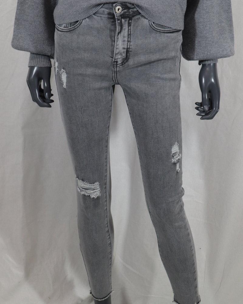 Miss Bon Destroyed jeans