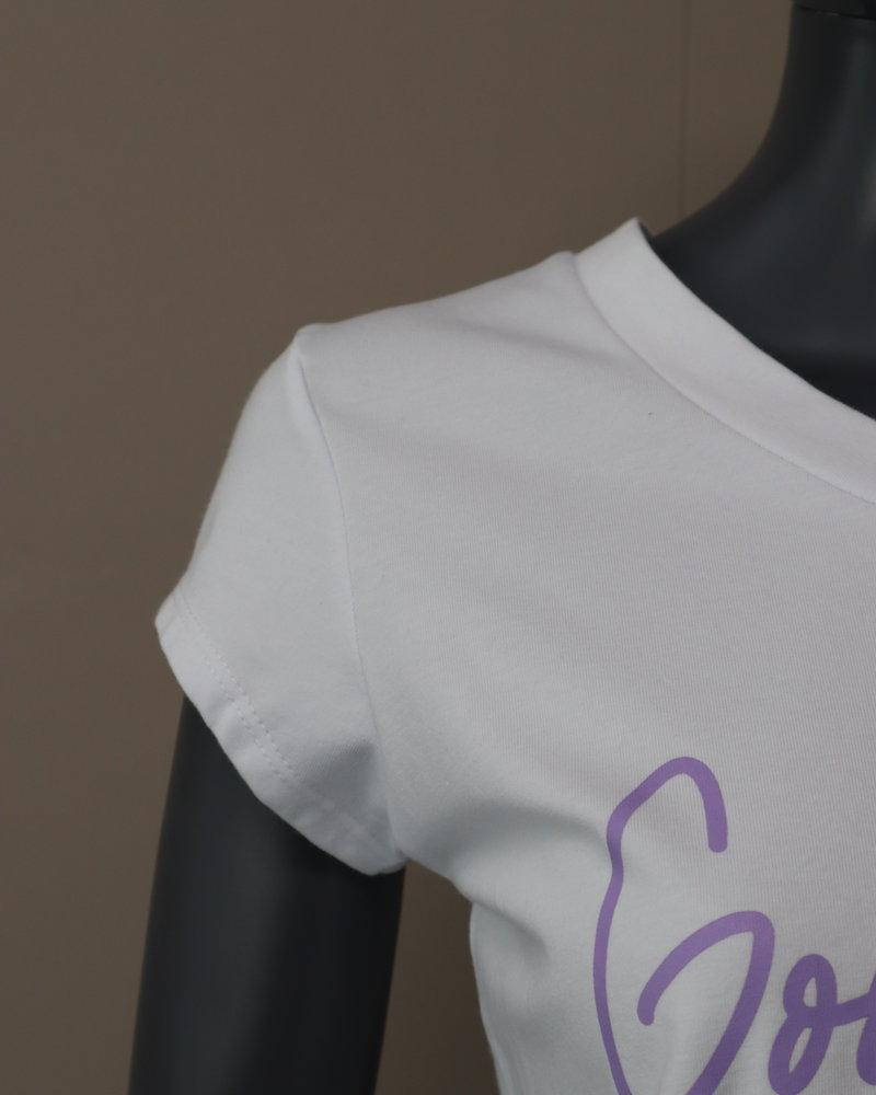 T-shirt (good things) paars