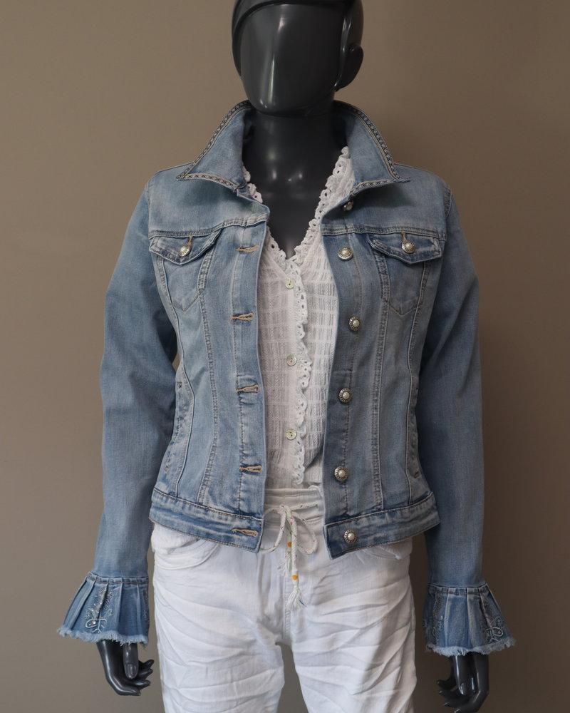 "Denim jacket ""Cala Olivera"""