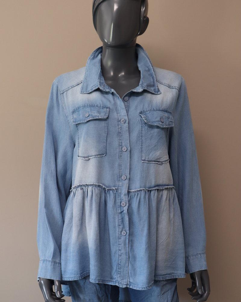 "Denim blouse ""Cala Nova"""
