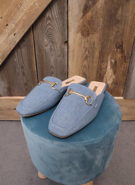 Slipper blauw