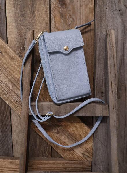 Telefoontas lichtblauw