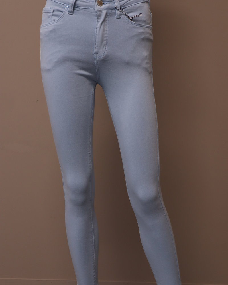 Skinny jeans licht blauw