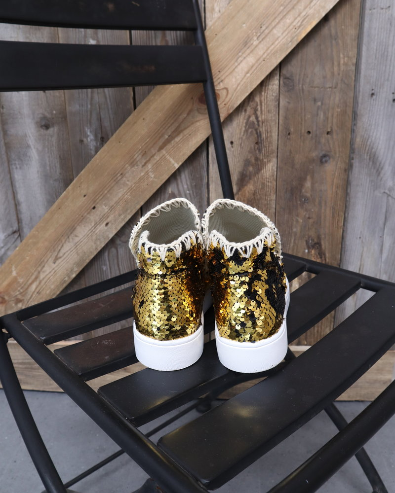 """Boots """"Black & gold"""""""