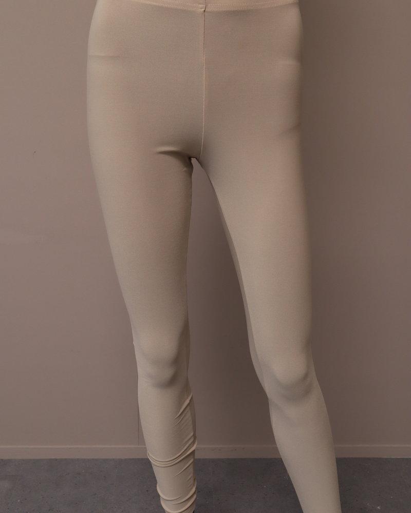 Travel legging beige