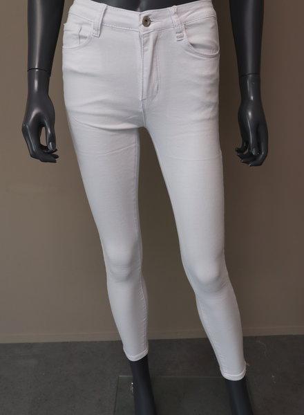 Miss Bon Skinny jeans (zomer) wit
