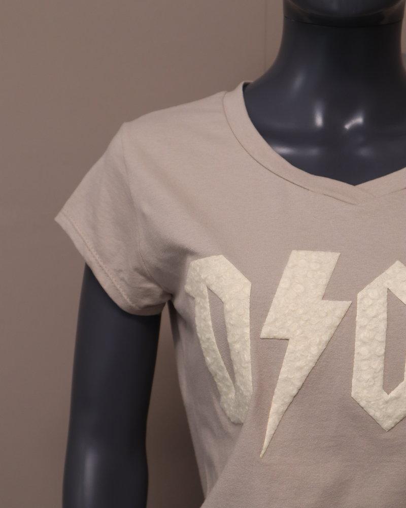 "T-shirt ""dior"" beige/room"