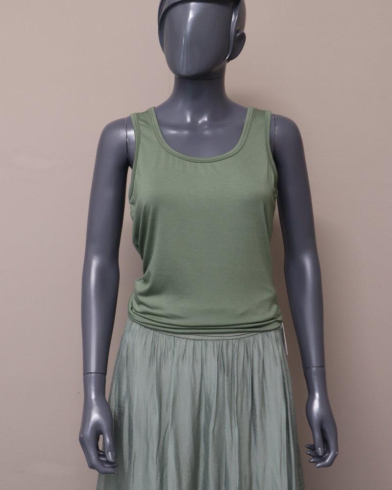 Basic hemd groen