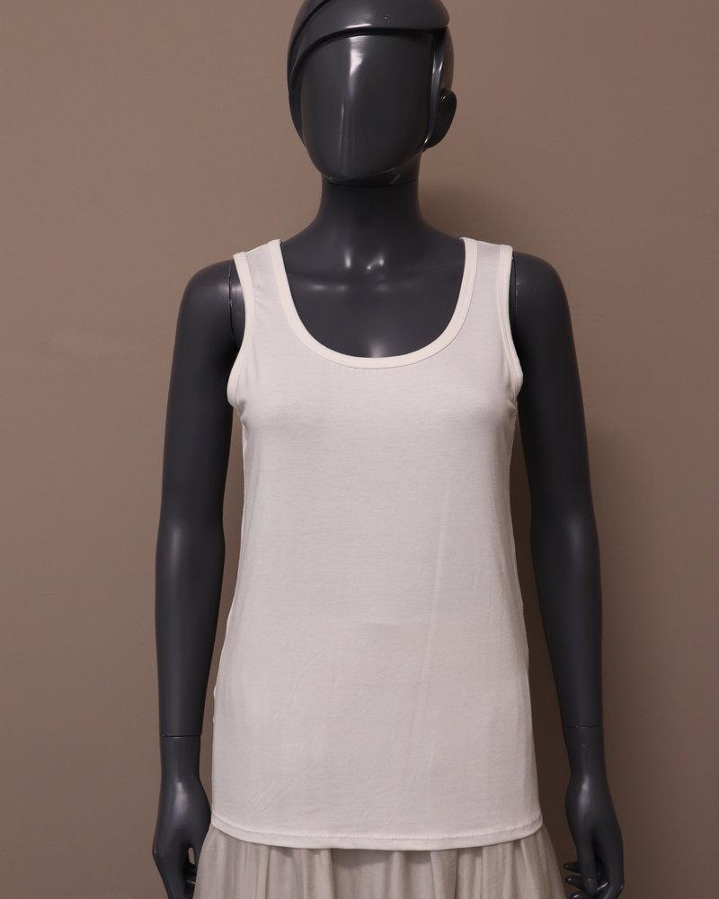 Basic hemd roomwit