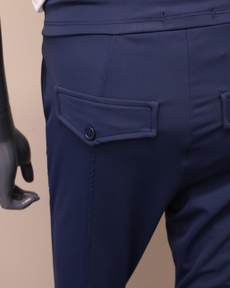 Travelpants donkerblauw