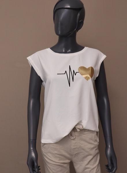 "T-shirt ""Heartbeat"""