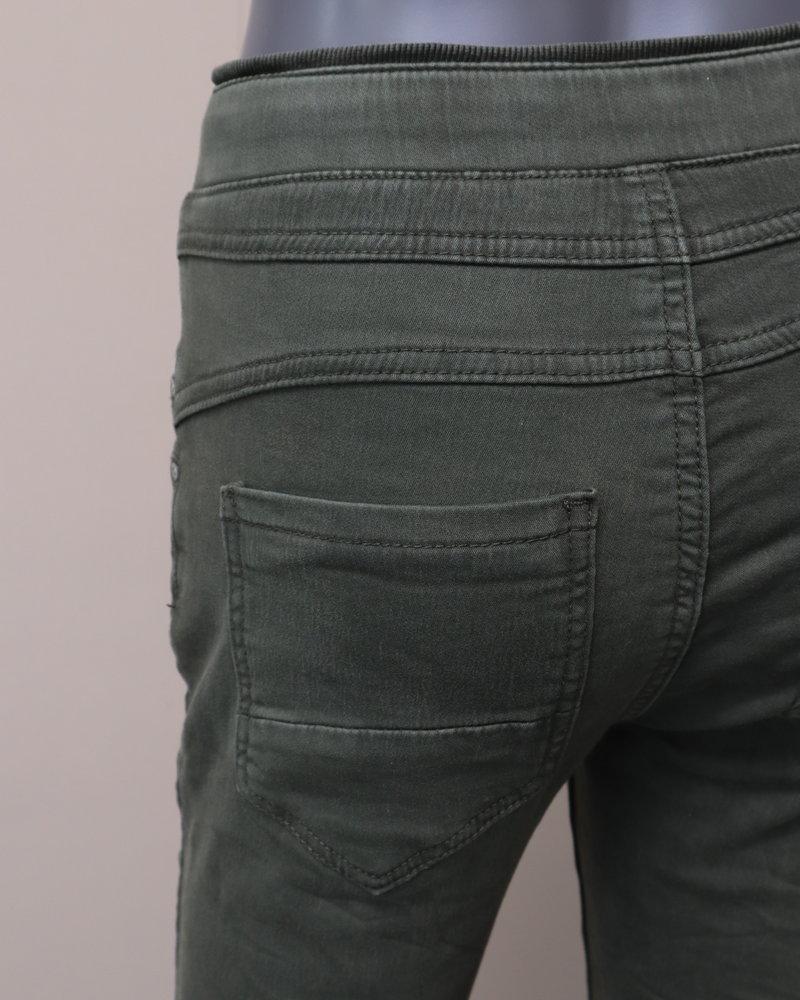 Jewelly Jog jeans army