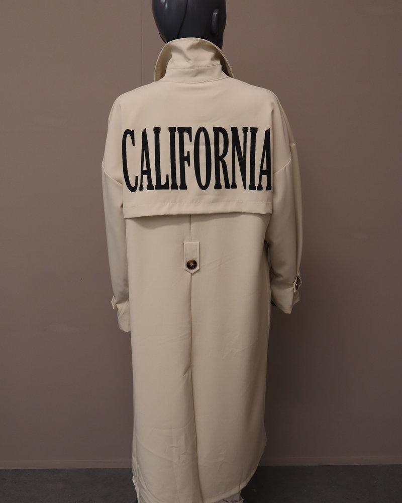 """Trenchcoat """"California"""" beige"""