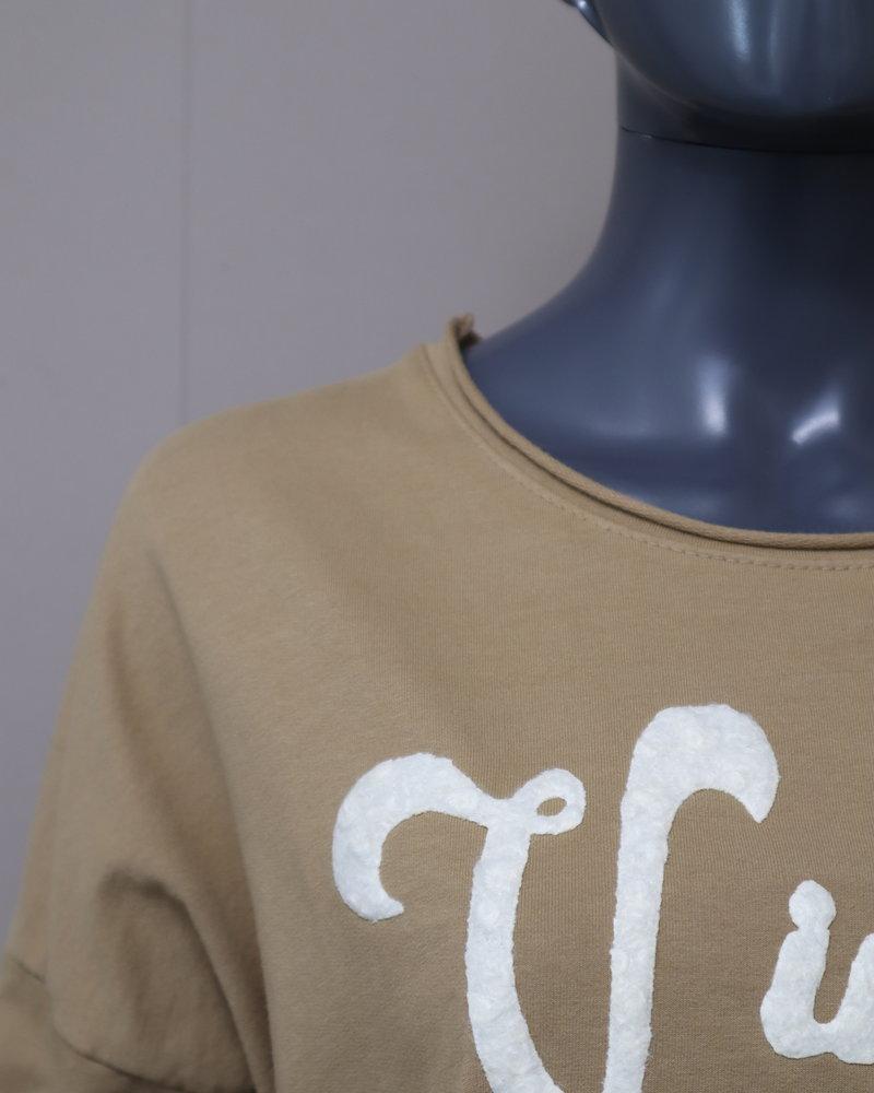 """Sweater """" Vintage"""" camel"""