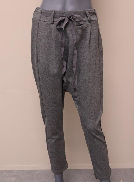 Xuna Comfi pantalon laagkruis grijs