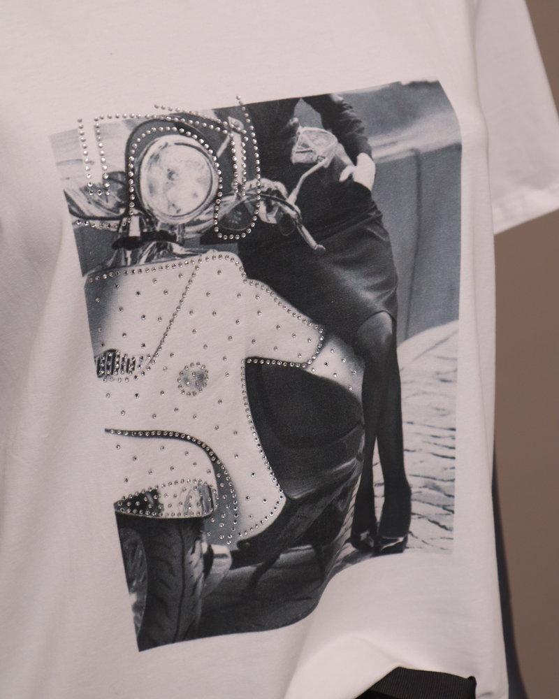 T-shirt Scooter grijs