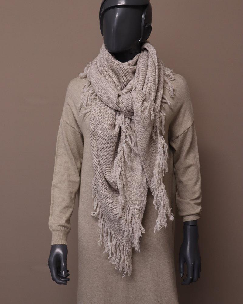 Omslagdoek/sjaal beige