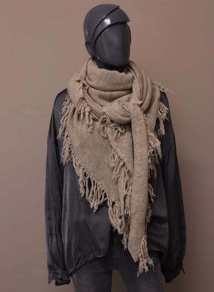 Omslagdoek/sjaal camel
