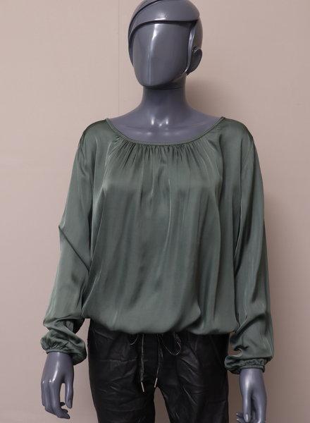 Silky ballontop groen