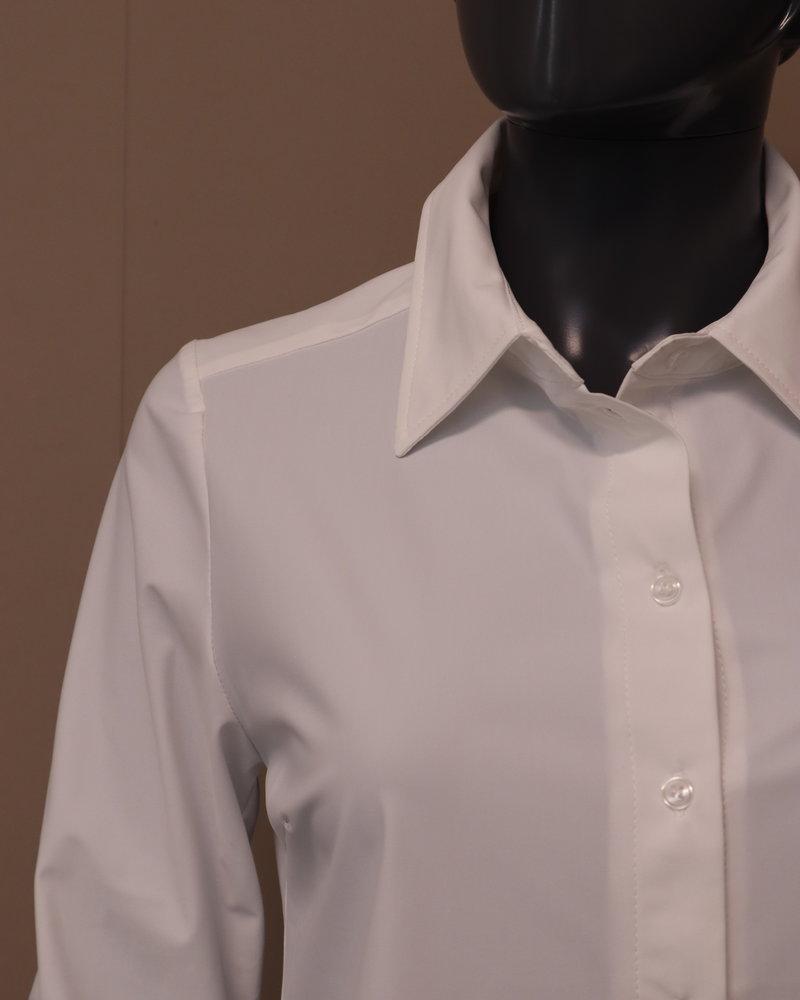 Triple Nine Travel blouse wit
