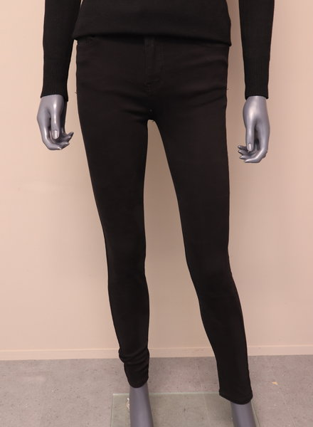 Miss Anna Jeans skinny zwart