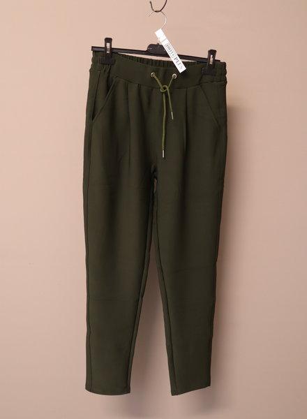 Pantalon groen PLUS