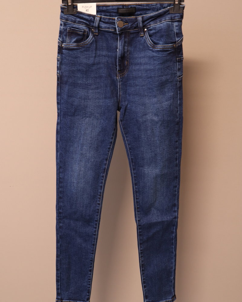 "Goodies Jeans ""Femke"" blauw PLUS"