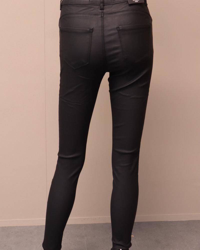 VS Miss Skinny jeans Coated zwart