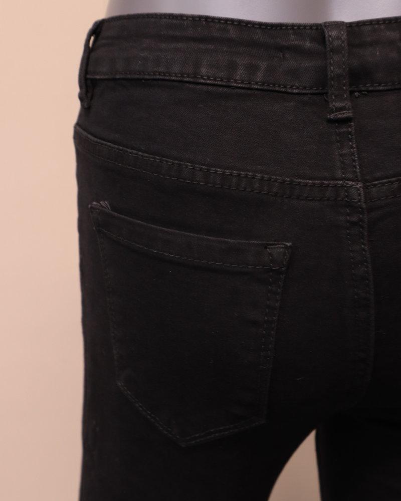 """VS Miss Skinny jeans """"Vivian"""" zwart"""