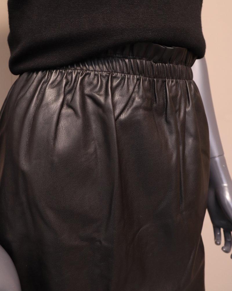 PU rok zwart