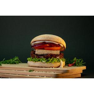 Smoky Beans Burger
